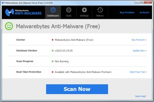 Malwarebytes Anti-Malware Free free download